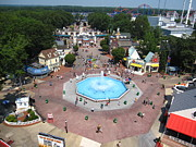 Fun Framed Prints - Six Flags Great Adventure - 12126 Framed Print by DC Photographer