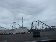 Six Flags Magic Mountain - 12121 Print by DC Photographer