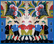 Leif Sodergren - Six Men Dancing