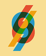 Colorful Art Posters - Sixty Nine Poster by Budi Satria Kwan