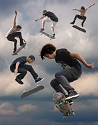 Skate Originals - Skateboard Heaven by Diana Hughes