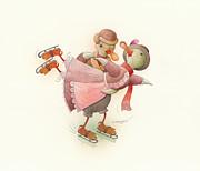 Kestutis Kasparavicius - Skating Ducks 2