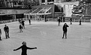 Figure Skating Photos - Skating In New York City by Dan Sproul