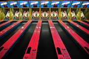 Playing Photos - Skee Ball Game at Kennywood Amusement Park by Amy Cicconi