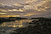 Martina Fagan Prints - Skerries Sunset Print by Martina Fagan