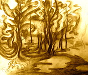 Gabriela  Taylor - Sketch for Abstract Trees