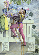 Ladder Paintings - Sketch for the Passions Love by Richard Dadd