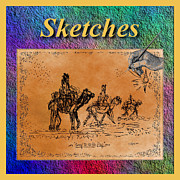 Sketches Drawings Originals - Sketches Gallery by Glenn McCarthy Art and Photography