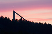 Ski Place Prints - Ski Jump Print by Peter Gudella