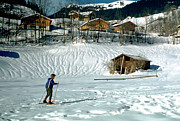 Shed Photo Originals - Ski-trekking at Goldern by Jan Faul