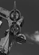 Steven Ralser - Maine - Old Skilift pulleys