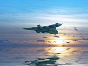 Vulcan Prints - Skimming the surface Print by Sharon Lisa Clarke
