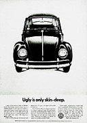 Vw Beetle Framed Prints - Skin Deep Framed Print by Benjamin Yeager