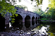 Montgomery Prints - Skippack Creek Bridge - Germantown Pike Print by Bill Cannon