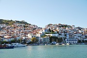 Skopelos Framed Prints - Skopelos island Framed Print by David Fowler