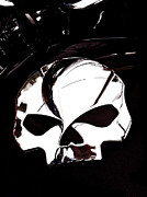 Chrome Skull Prints - Skull Print by Bill Owen
