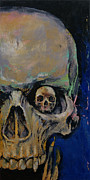 Skulls Print by Michael Creese