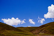 Himalayas Prints - Sky and clouds in mountain Print by Raimond Klavins