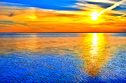 Dan Carmichael - Sky and Water Sunset Outer Banks II