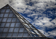 Reflections - Sky Clouds and Glass by Robert Ullmann