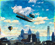 The Sky Is The Limit Prints - Sky is the Limit Print by Bill Cannon