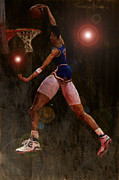 Basketball Paintings - Sky by Jumaane Sorrells-Adewale