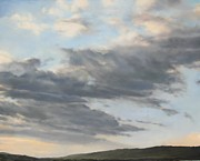 Luminous Paintings - Sky over Olonzac by Thomas Darnell