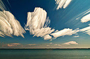 Bath Digital Art Posters - Sky Sculptures Poster by Matt Molloy