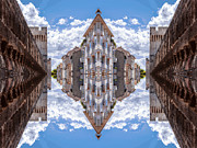 European City Digital Art - Sky street by Yevgeni Kacnelson