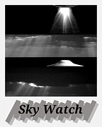 Ufology Framed Prints - Sky Watch Framed Print by Daryl Macintyre