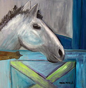 Stable Painting Originals - Skye by Marita McVeigh