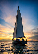 Yacht Photo Prints - Skyelark of London Print by Alexis Birkill