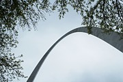Skyhigh Gateway Arch Print by Theresa Willingham