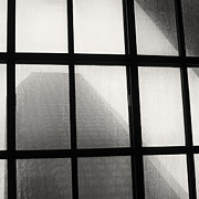 TONY GRIDER - SKYLIGHT IN RAIN BW SQUARE
