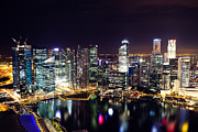Fototrav Print - Skyline of Singapore Financial District