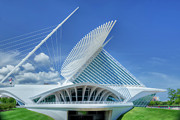 Calatrava Photos - Skypad by Joan Carroll