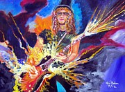 Saul Hudson Painting Originals - Slash 1 by To-Tam Gerwe