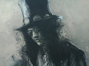 Slash Drawings - Slash by Ferlin Snakeskin