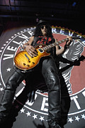 Slash Prints - Slash Guitarist Print by Jenny Potter