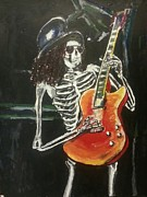 Slash Painting Posters - Slash Poster by Marisa Belculfine