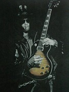 Velvet Revolver Art - Slash by Melissa Baccus