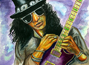 Slash Mixed Media - Slash number two by Michael Cook