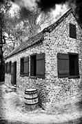 Slavery Framed Prints - Slave House Framed Print by John Rizzuto