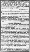 Slave Trade News - 1847 Print by Daniel Hagerman