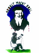 Slave Trade Paintings - Slave Trader John Cabot by Banksyno2