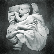 Blanket Posters - Sleep Like a Baby Poster by Cindy Singleton