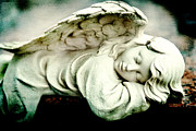 Joan Mccool Metal Prints - Sleeping Angel Metal Print by Joan McCool