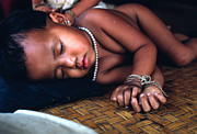Carl Purcell - Sleeping Baby in Laos