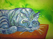 Cherie Sexsmith - Sleeping Blue Cat