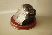 African Sculptures - Sleeping Child by Leslie Dycke